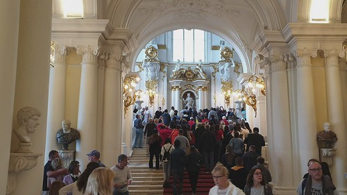 Winter Palace Visitors
