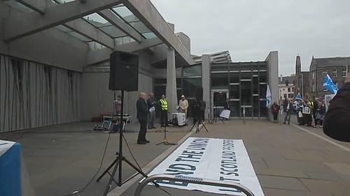 Rally at Holyrood