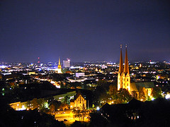 Bielefeld by night....apparently