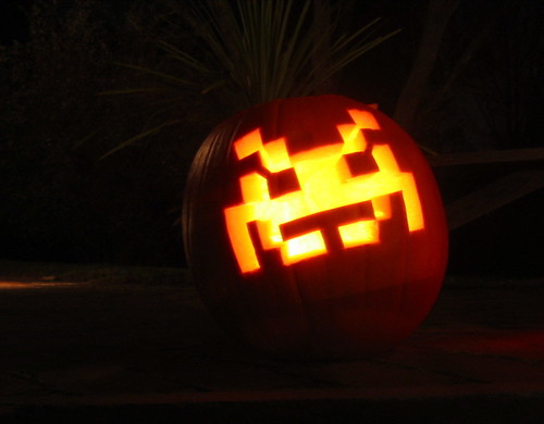Pumpkins - Space Invader by MikeWebkist.