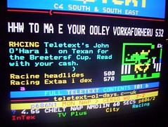 Corrupted Teletext