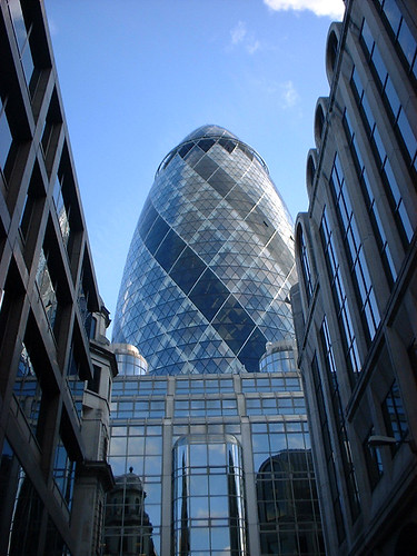 The Erotic Gherkin, London by Naomi