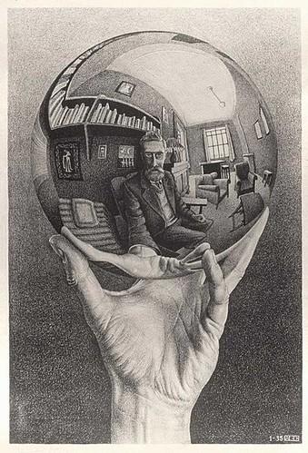 Escher Autoretrato