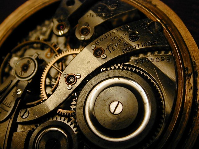 Grandfather's pocketwatch inner workings