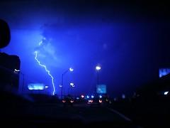 Lightning (Angie) Tags: lightning storm sky night driving