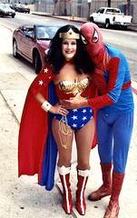 Wonder Woman and Spiderman