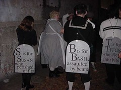 Edward Gorey Gashlycrumb group costumes