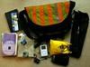 In my bag (nospuds) Tags: bag whatsinyourbag whatsinmybag tripod ipod books crumpler