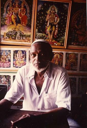 Muslim Man In Varanasi