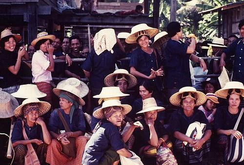 Thailand market women