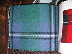 The Irvine Clan Tartan