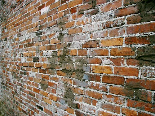 Mixed Brick Wall
