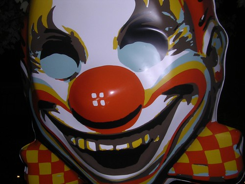 Huge Clown Face