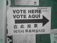 votando