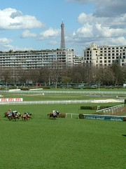 Horse Race (Happy A) Tags: horse paris france race eiffeltower eiffel hippodrome auteuil