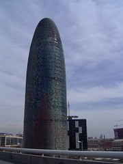 Barcelona - Agbar tower (rusci) Tags: barcelona tower architecture geotagged 2006 nouvel agbar geolat41403628 geolon2189627