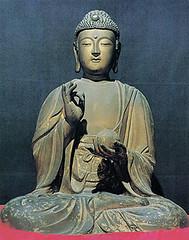 The Secret (Phototrain Photography) Tags: 2004 buddha korea teresa songnisan
