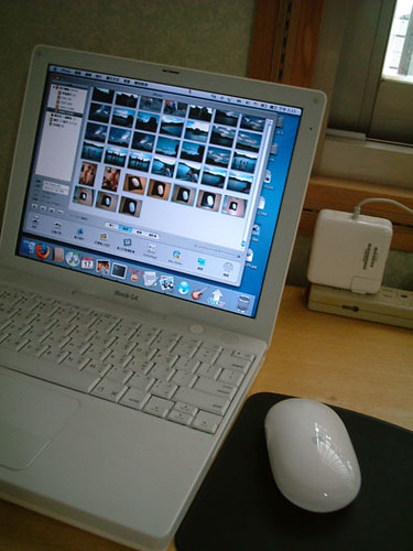 my iBook G4 800