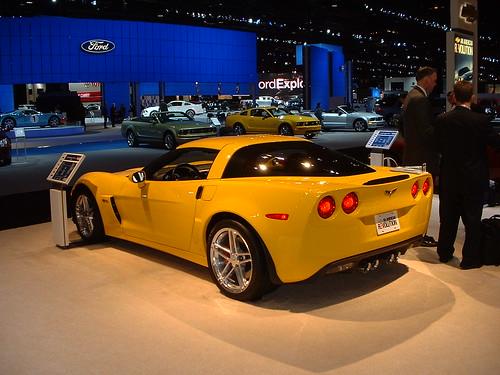 Фотографии Chevrolet Corvette Z06 (шевроле корвет)