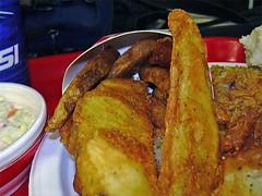Closeup of potato wedges (Morton Fox) Tags: 15fav food potatoes fastfood nj kfc bergen ramsey potatowedges