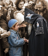 Blessing (PhotoTester) Tags: blessing orthodox hieromonk