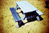 picnic table (lomokev) Tags: wood blue beach yellow bench lomo lca xpro lomography crossprocessed xprocess madera sand highcontrast lomolca agfa vignetting holz jessops100asaslidefilm agfaprecisa lomograph picnictable agfaprecisa100 cruzando picnicbench precisa пляж deletetag jessopsslidefilm ξυλο image:selection=nmo2 file:name=islewhite22h