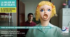 Inmujeres contra el Acoso Sexual - by Arturo de Albornoz