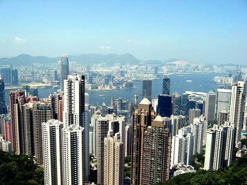 view from the peak @ hk by stonz