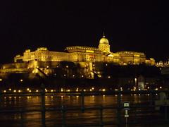 Buda castle at night (ChadBriggs) Tags: castle river hungary budapest duna danube magyarorszag budavar