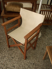 One of the new chairs we ordered