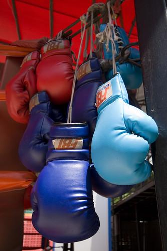 قفازات ملاكمة