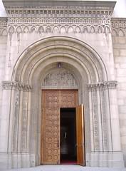 Wilshire United Methodist Church (Main Door) - by monette_LA