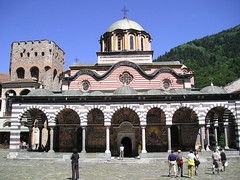 Inside the Monastery (p-and-h) Tags: travelling monastery bulgaria rila
