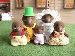 Brown Mole Family