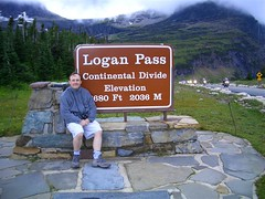 Sean at Logans Pass (seanabrady) Tags: glaciernationalpark glacier sean continentaldivide