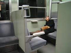 train corpse