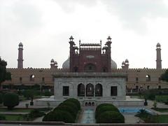 Lahore Fort - Hazoori Bagh Baradari (razanoor) Tags: pakistan architecture fort historical lahore mughal