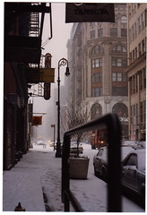 new york city, mercer street, winter 1992 by svanes, on Flickr