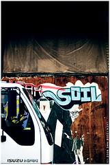 (macwagen) Tags: urban truck graffiti soil fotolunch