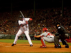 ortiz the master (doogin) Tags: worldseries game1 davidortiz redsox