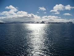 Un nuevo día en la Antártida