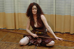 Barbarian, Norwescon 29, Seattle, WA (djwudi) Tags: seattle costumes washington costume cosplay d70s convention conference nikkor con barbarian norwescon 50mmf14d doubletreehotel norwescon29 costumegallery upcomingevent30263