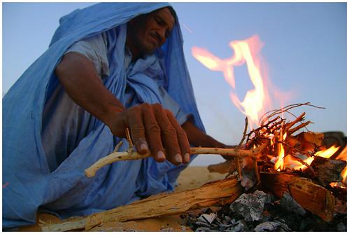 Tuareg fire