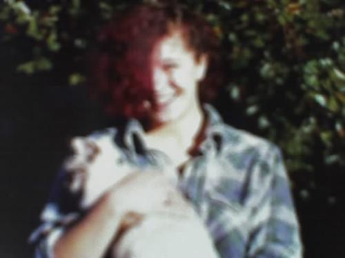 pink hair, 1986