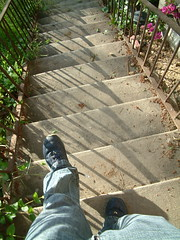 Stair walk in L.A.