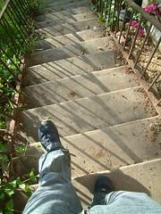 Stair walk in L.A.