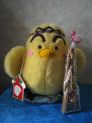 Stuffed chick