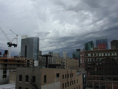 rooftop construction (swanksalot) Tags: urban chicago skyline clouds construction westloop swanksalot sethanderson