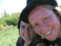 Jen & I (George) Tags: seattle friends me smile george jen armslength georgeoates womensday05 popstars jentodd