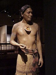 Cahokia warrior (mharrsch) Tags: archaeology mississippi ancient native indian missouri hopewell cahokia moundbuilders mississippian mounds artifacts mharrsch mississippianculture cahokiainterpretivecenter